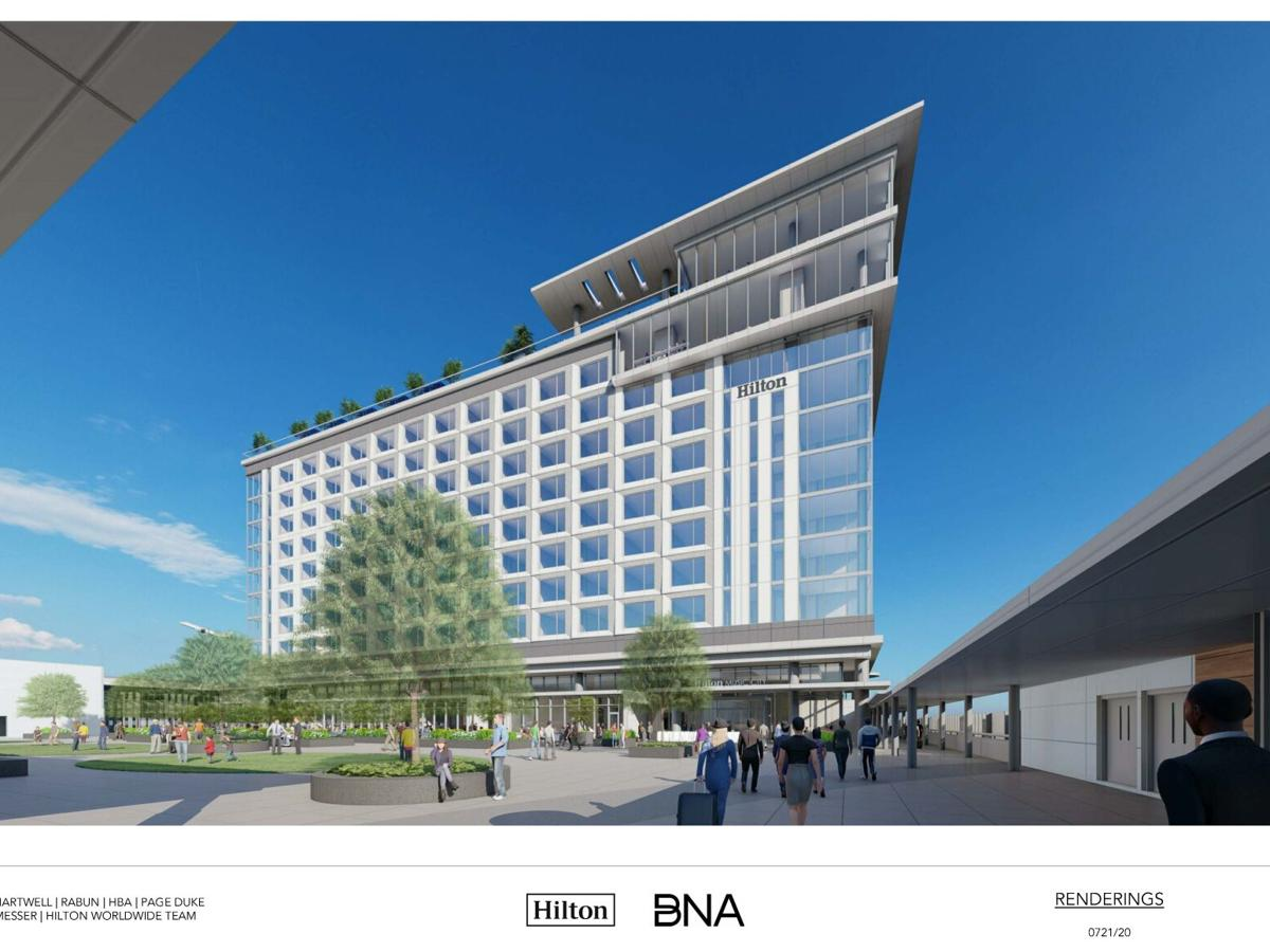 World-class Hilton Hotel coming to Nashville International Airport