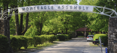 Monteagle Assembly arch