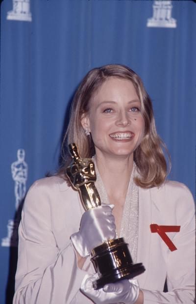 Jodie Foster wins Oscar for 'Silence of the Lambs' performance