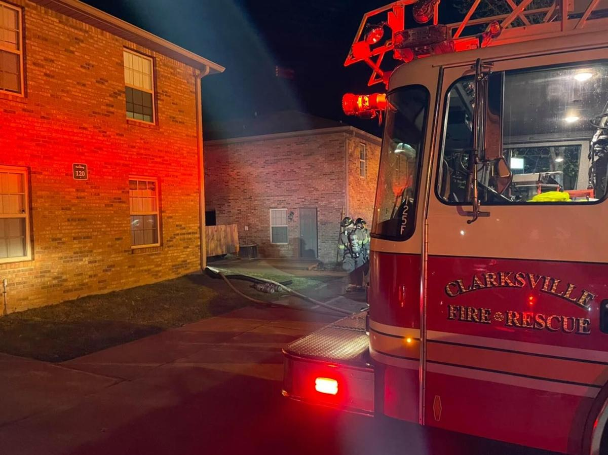 Sango family displaced in apartment fire