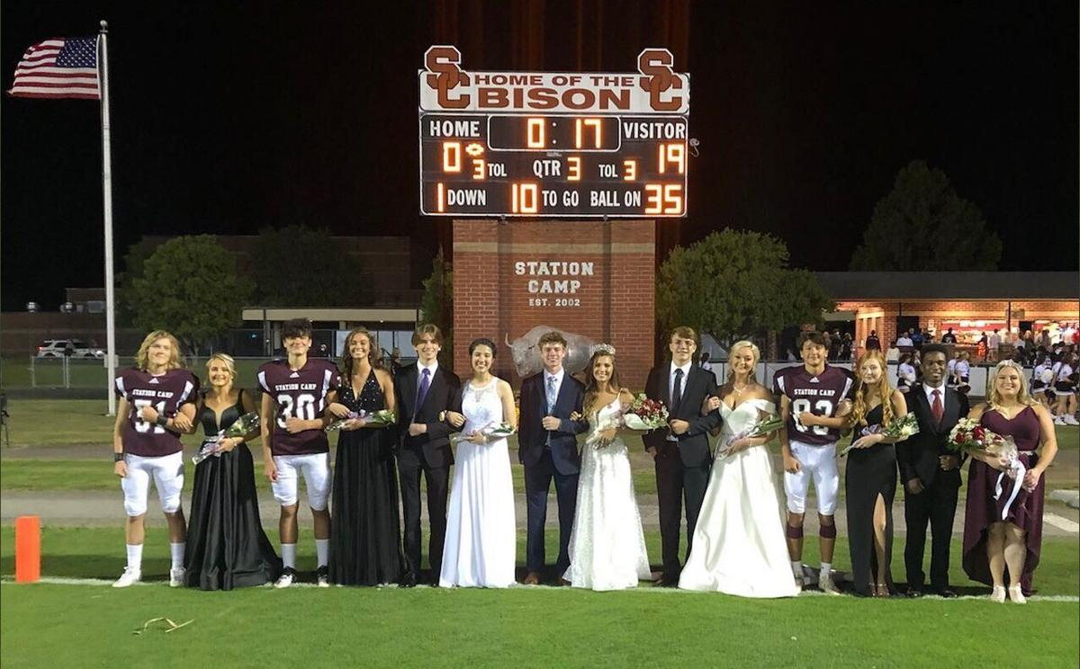 Station Camp Homecoming Court. Crowned Homecoming Queen was Katie Kirkham.