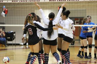 West Creek volleyball