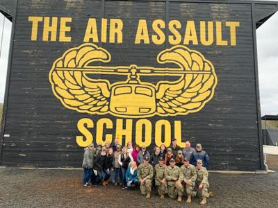 Chamber visits Fort Campbell 2