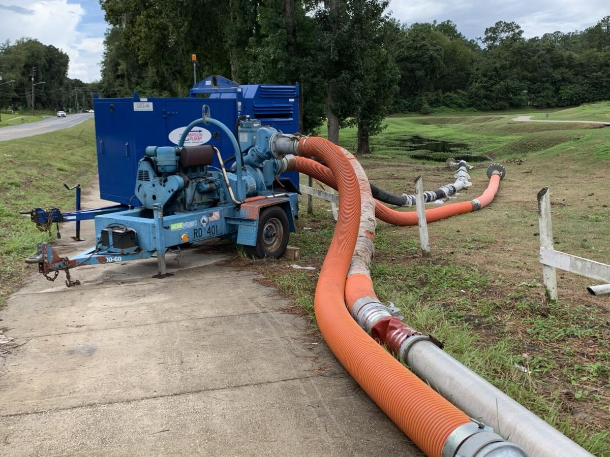 Pumps at Meadowbrook Golf course in Gainesville