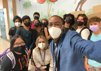 Eastside students win Milton Wolf Prize awards and are masked