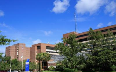 UF Health Shands hospital in Gainesville