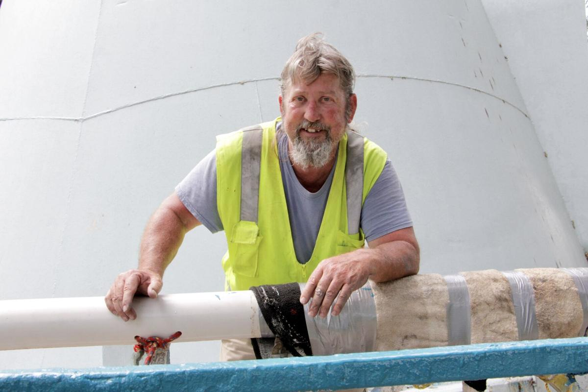Jimmy Kelly, water tower painter