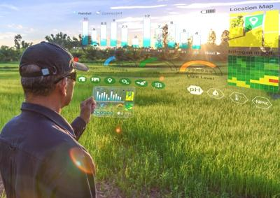 Agricultural farming data helping with food production