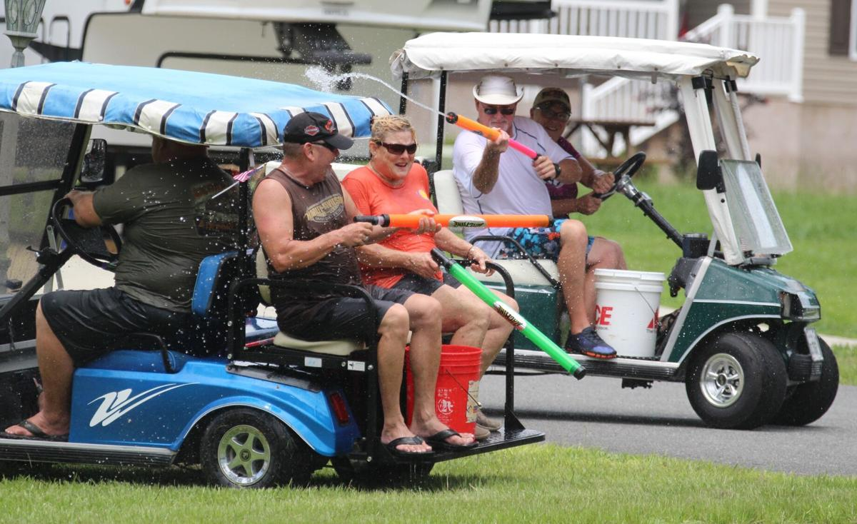 RV residents in water war with water guns
