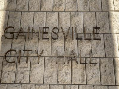 Gainesville City Hall sign