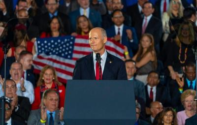 Sen. Rick Scott urges people to 'wear a mask' after testing positive for COVID-19