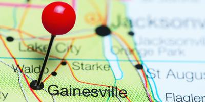 Gainesville Map
