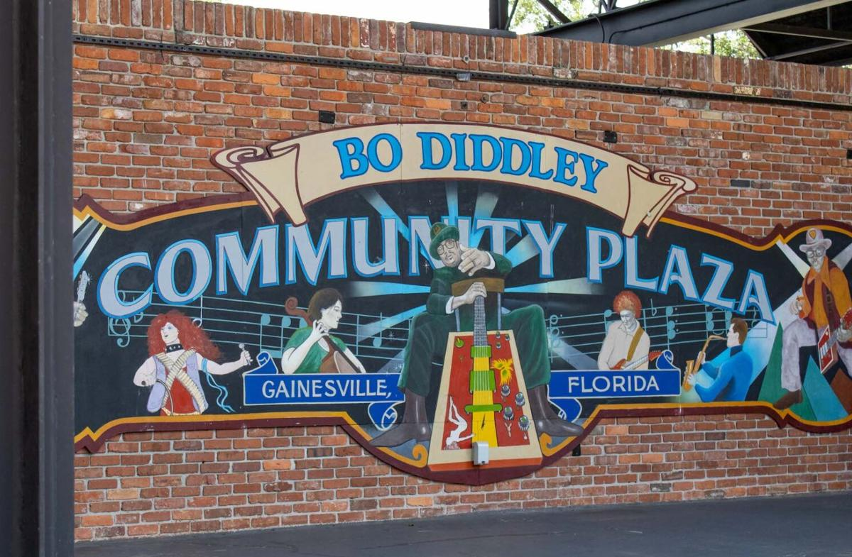 Bo Diddley Community Plaza in Gainesville