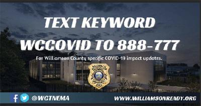 Williamson County EMA moves to Level 3, partial Emergency Operations Plan amid COVID-19 crisis
