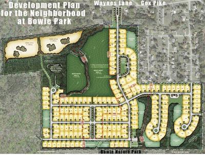 """Proposed """"Neighborhood at Bowie Park"""""""