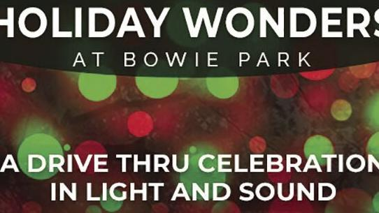 City to host Holiday Wonders at Bowie Park