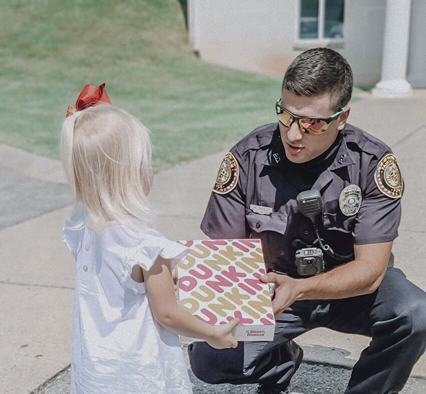 FPD donut delivery Officer Reed 1 .jpg