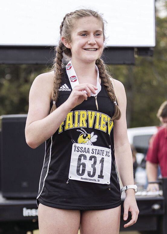 Fairview's Alyssa Andrea 2X State Cross Country Champion