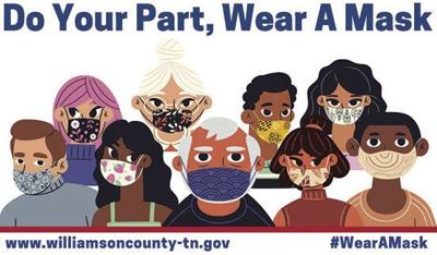 Williamson County's face mask mandate order expires