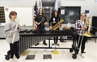 Fairview High band thankful for new instruments