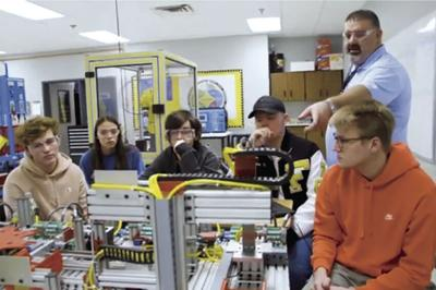 Fairview High's Mechatronics Program continues to see great success.
