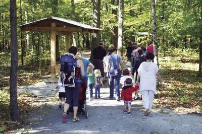 Explore nature at Timberland Park in September.