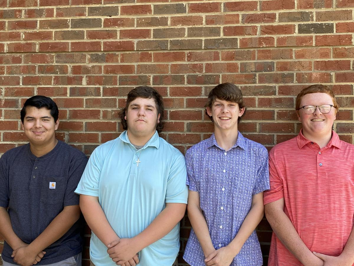 MCHS FFA meats evaluation team takes third in area