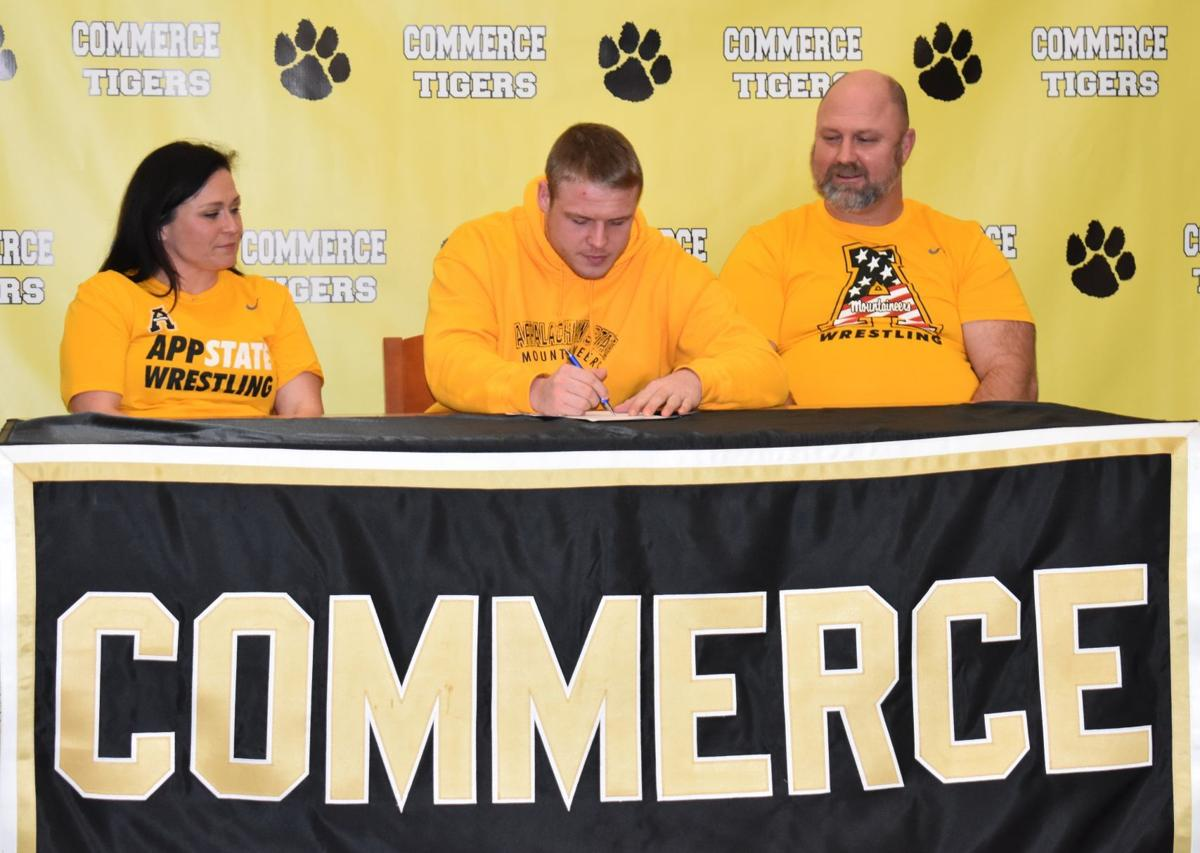 BURNS SIGNS WRESTLING SCHOLARSHIP WITH APP STATE