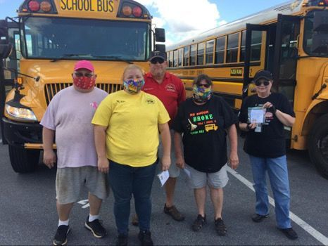 Bus drivers recognized, given gifts of gratitute