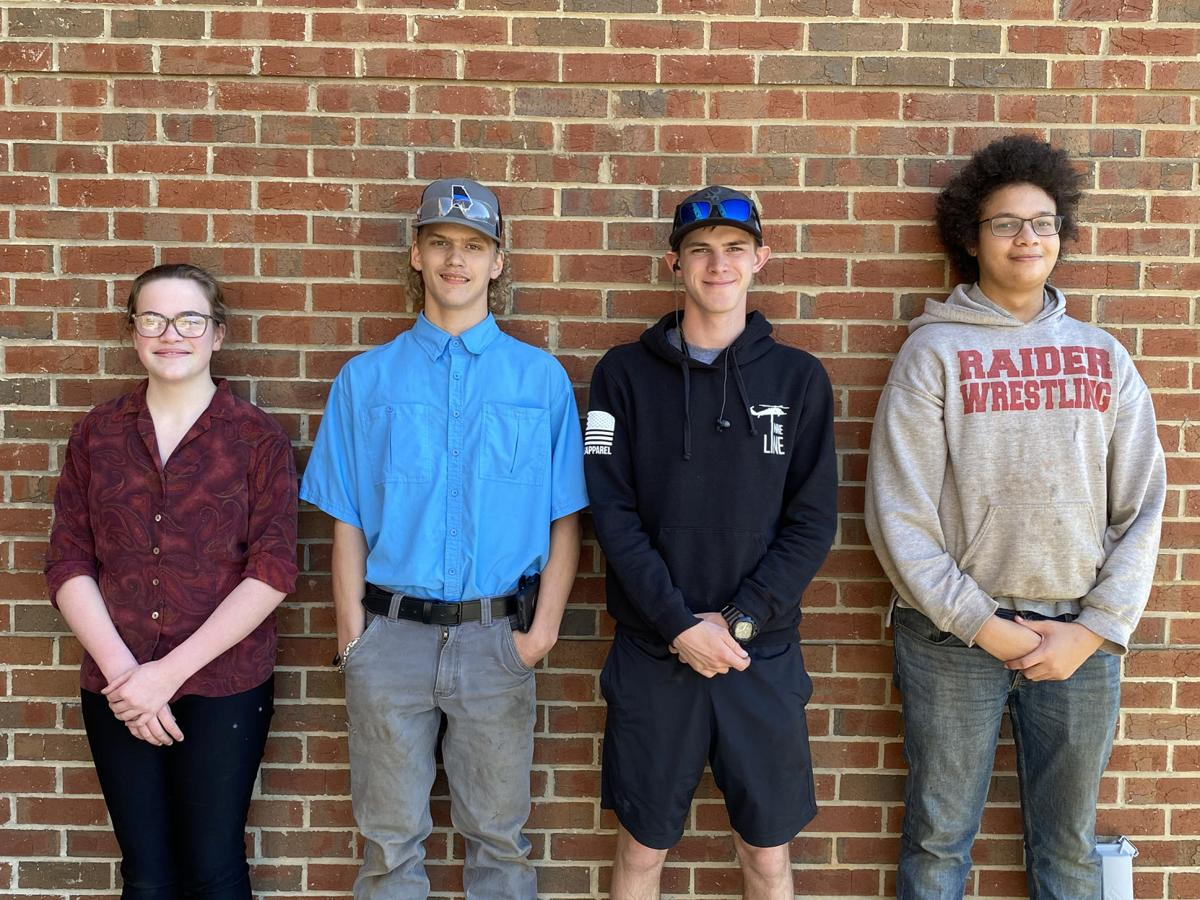 MCHS ag mechanics team takes second in area event