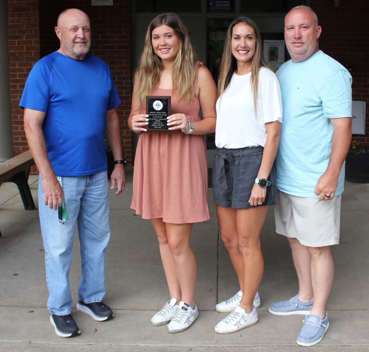 Benson and Sellers win McGlennen Award