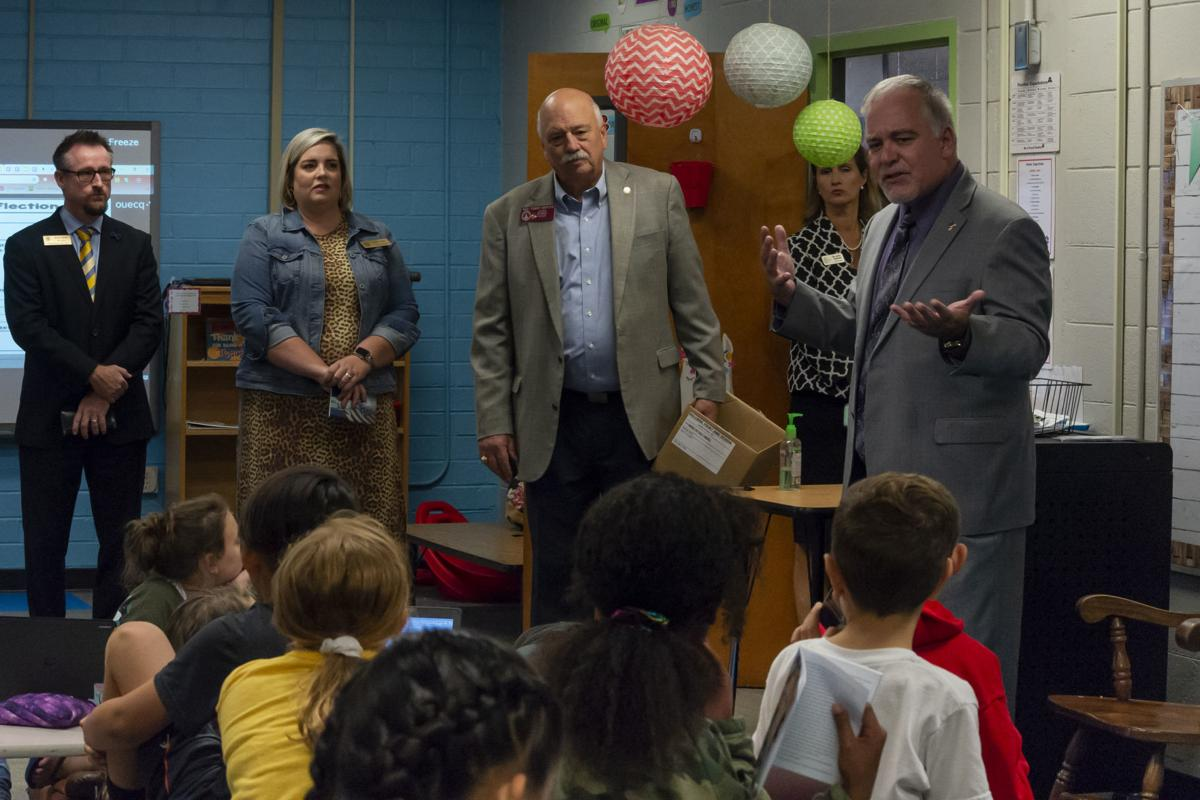Officials visit North Jackson students