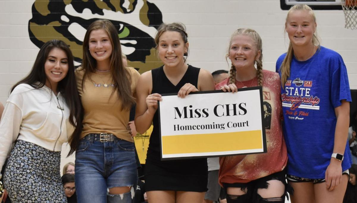 MISS HOMECOMING COURT