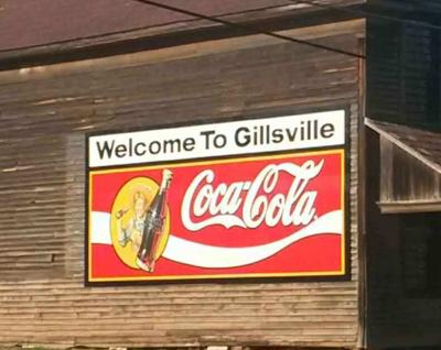 NEW GILLSVILLE WELCOME SIGN
