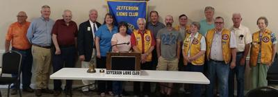 LIONS CLUB OFFICERS INSTALLED