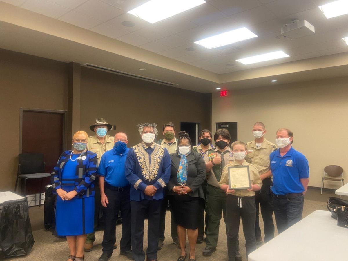 Hull recognizes Boy Scouts