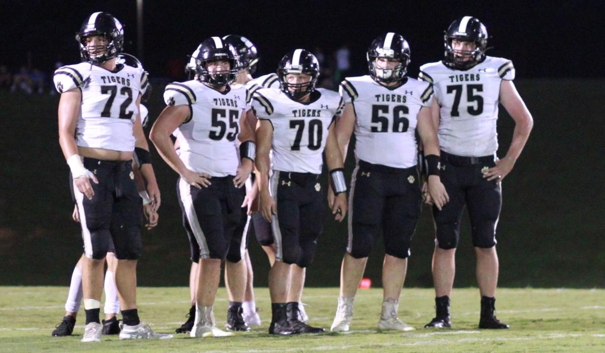 TIGER OFFENSIVE LINE
