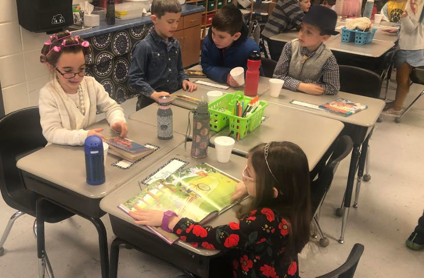 GSES students have coffee house book discussion