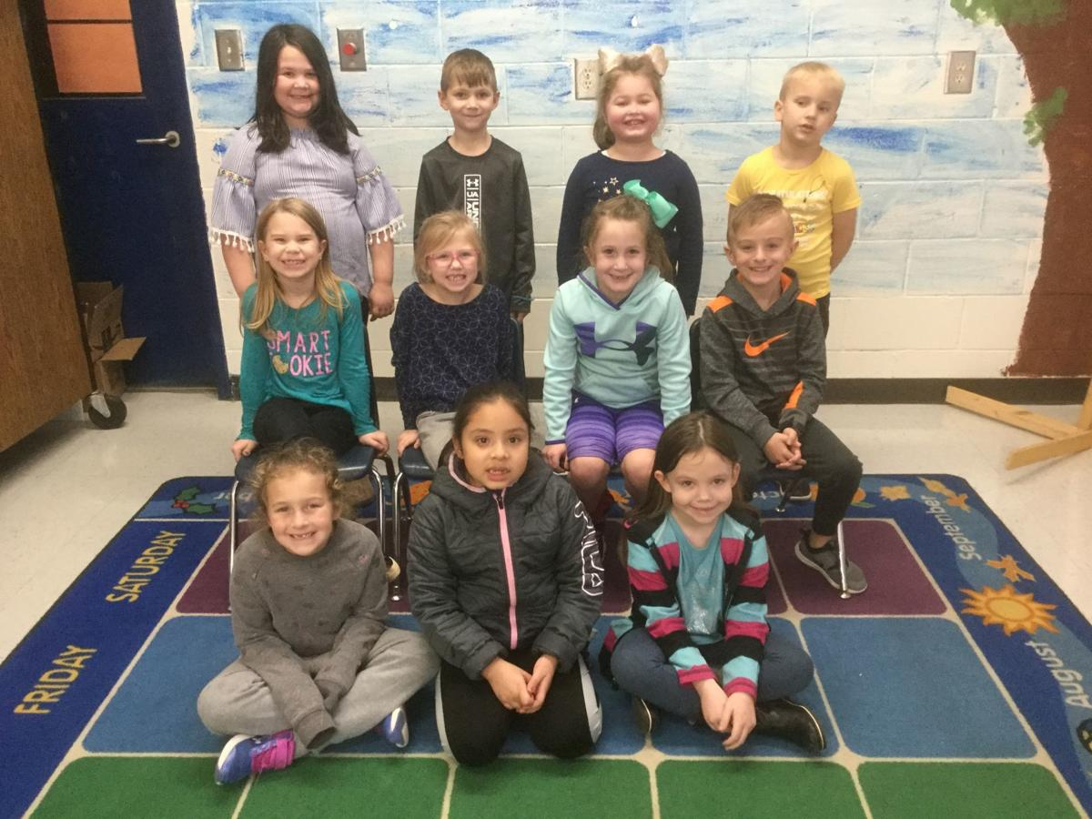 First grade Little Leopards of the Month
