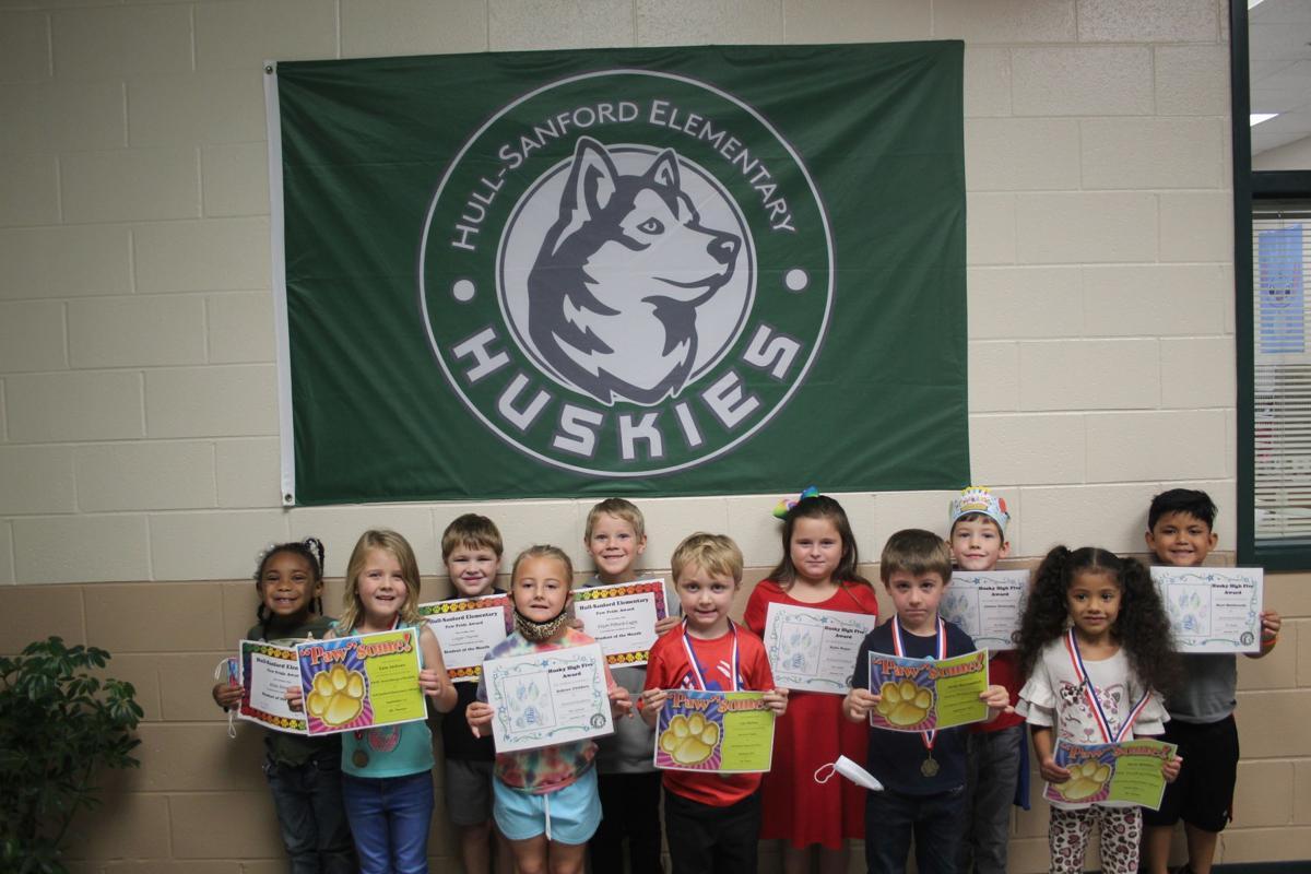 Hull-Sanford recognizes kindergarteners