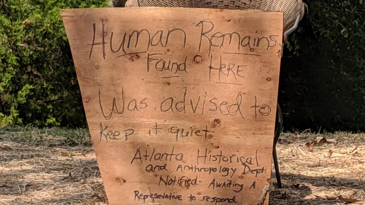 Skull unearthed in Pendergrass, origins unclear