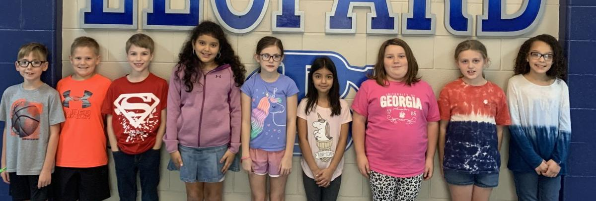 FOURTH GRADERS HONORED