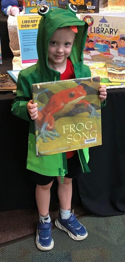 ALL ABOUT FROGS AT THE LIBRARY