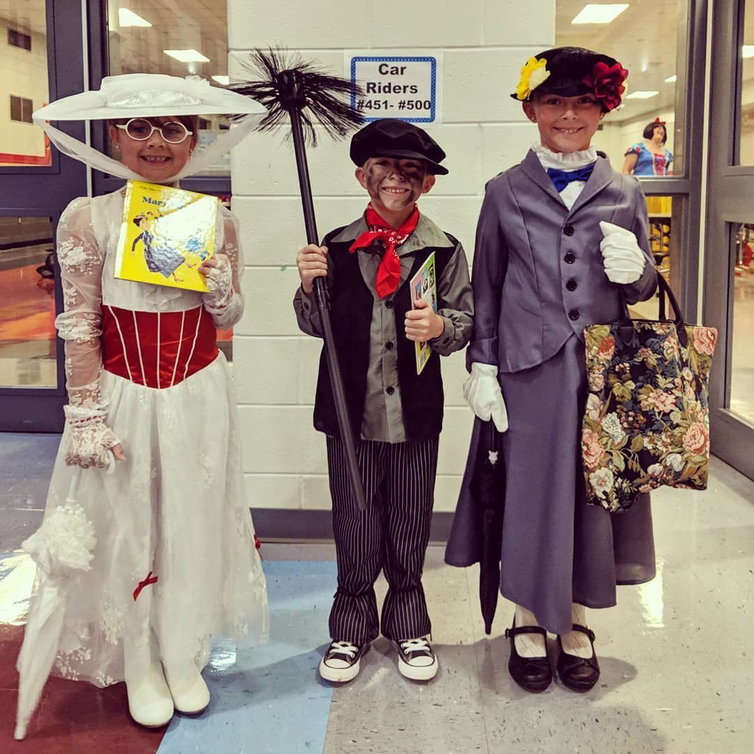 Mary Poppins-inspired crew