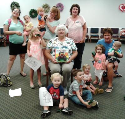 Kidsercise program hosted at Commerce library