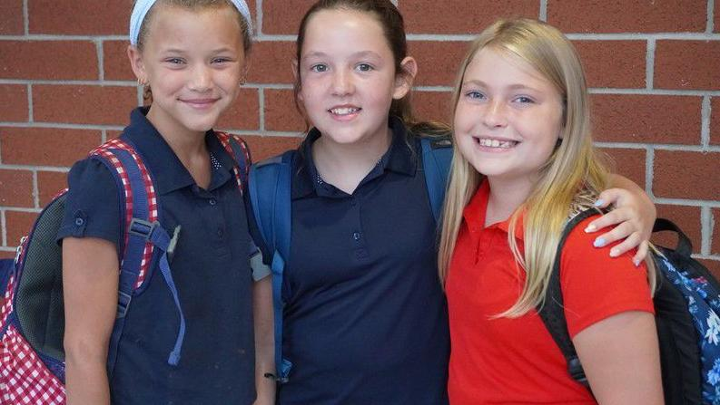 Jefferson students return to school