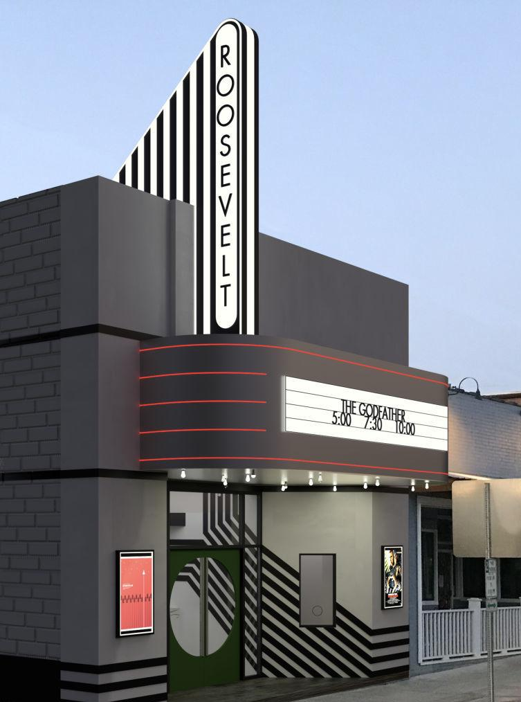 ARTIST RENDERING OF THEATRE