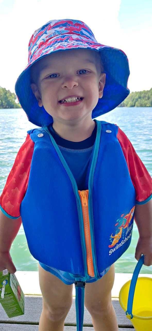 All smiles at Lake Lanier