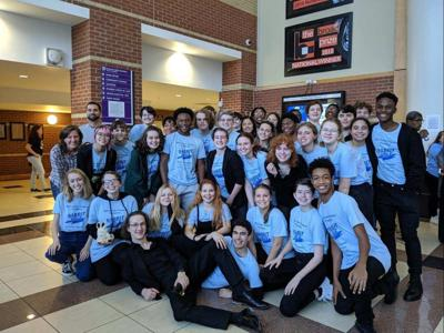 MCHS theatre group competes in region contest