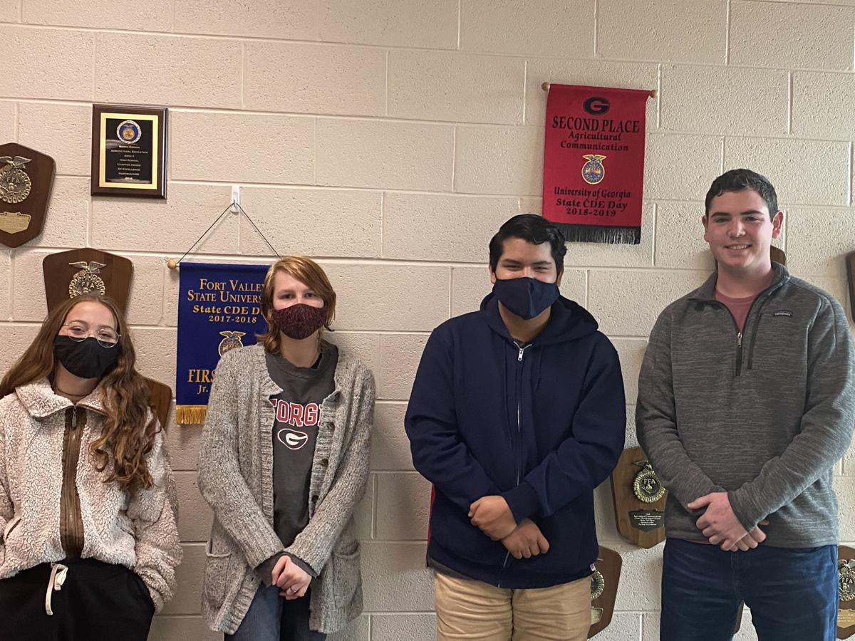 MCHS FFA floriculture team takes fourth in area